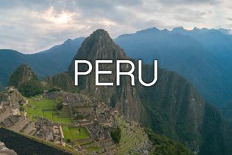 backpacking i sydamerika - Peru