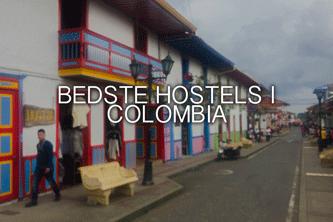 Bedste holstels i Colombia