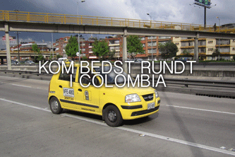 Kom bedst rundt i Colombia