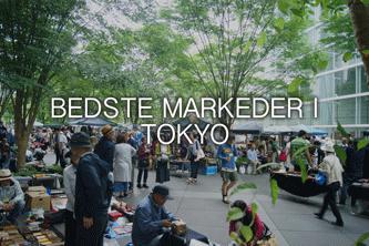 Bedste markeder i Tokyo