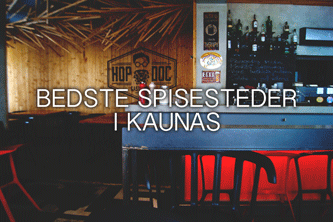 Spisesteder i Kaunas