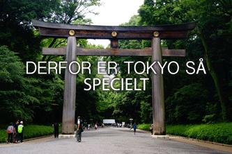 Derfor er Tokyo så specielt