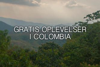 Gratis oplevelser i Colombia