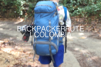 Backpacking rute colombia
