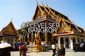 oplevelser i Bangkok
