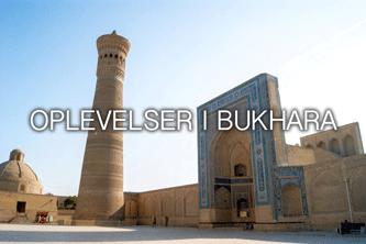 Oplevelser i bukhara