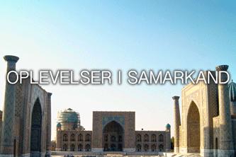 Oplevelser i samarkand - rejser til uzbekistan