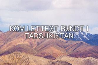 kom rundt i tadsjikistan