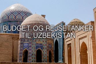 budget til uzbekistan tanker rejser til uzbekistan