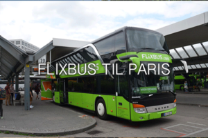 FlixBus til Paris
