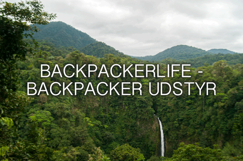 Backpackerlife – backpacker udstyr
