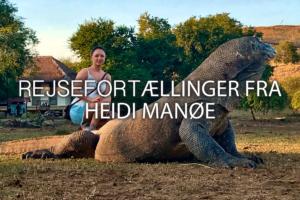 Rejsefortællinger af Heidi Manøe
