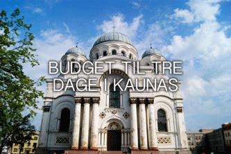budget til kaunas