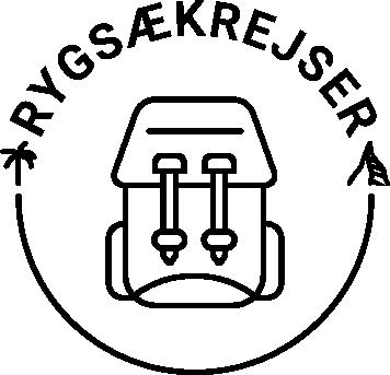Rygsækrejser logo
