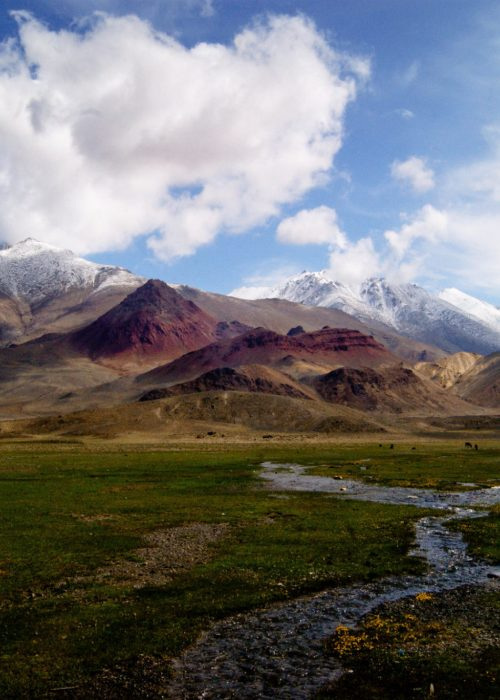 Pamir highway pshart valley